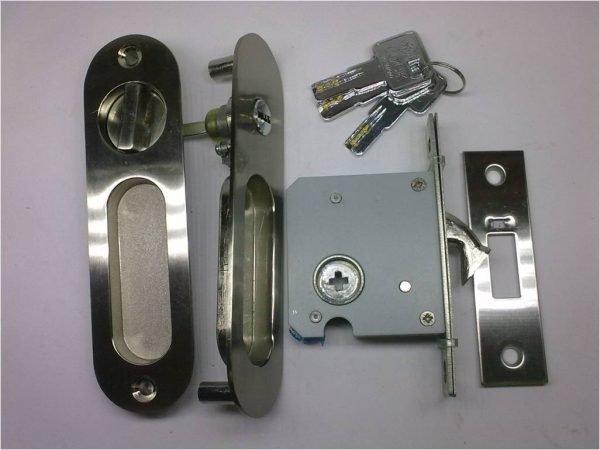 Полный набор для запирания сдвижной двери