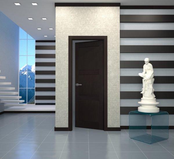 Двери венге с качественной ламинацией