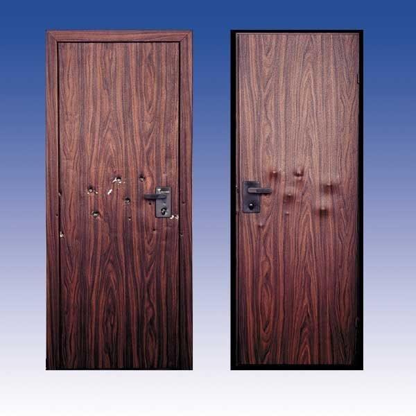 Входные двери с пуленепробиваемым покрытием