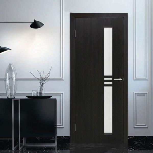 Двери венге с ПВХ-ламинацией