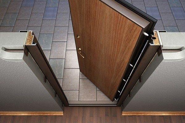 Проверка работы входной двери