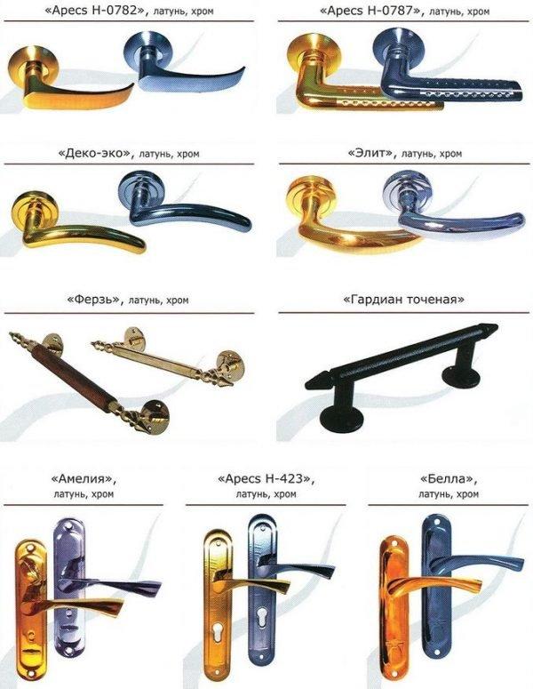 Ручки для входных дверей