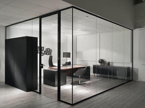 Офисные алюминиевые перегородки
