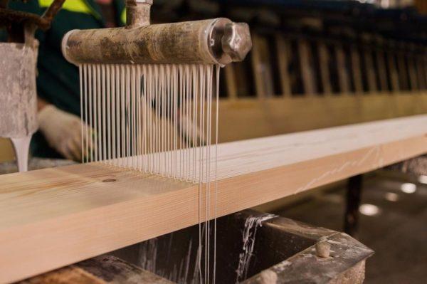 Производство клеенного бруса