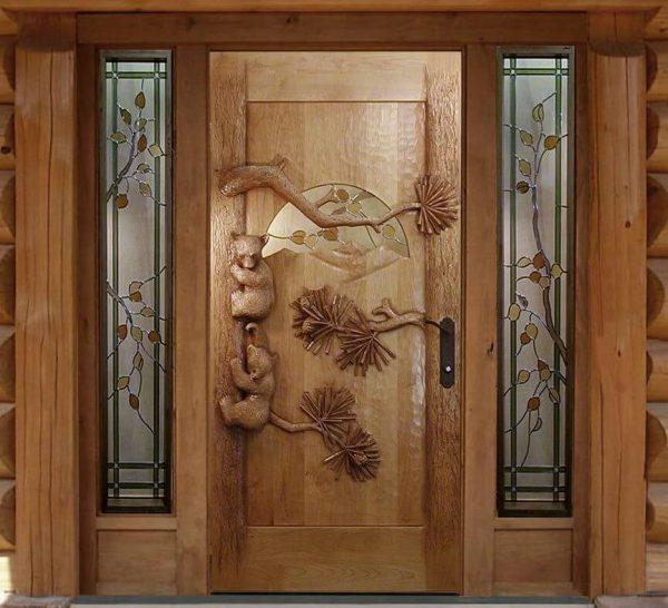 Дверь ручной работы