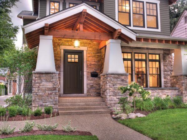 Алюминиевые двери для частного дома