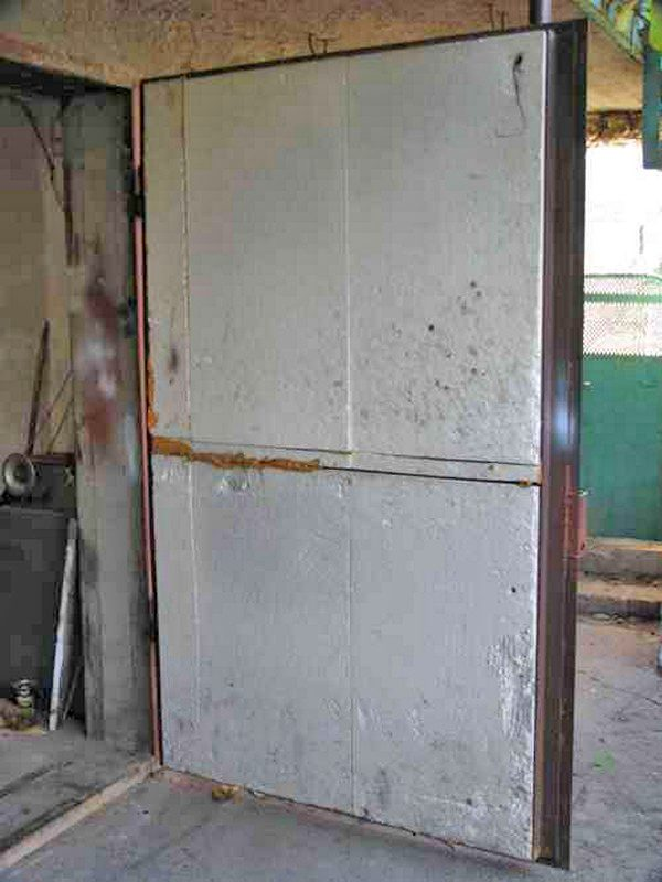 Ремонт теплоизоляции дверей
