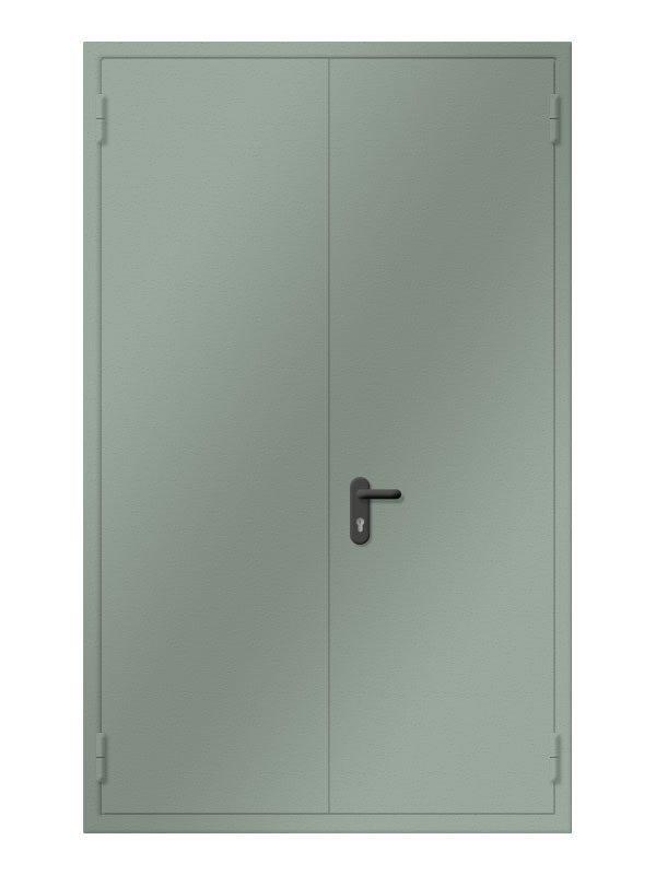 Входные противопожарные металлические двери