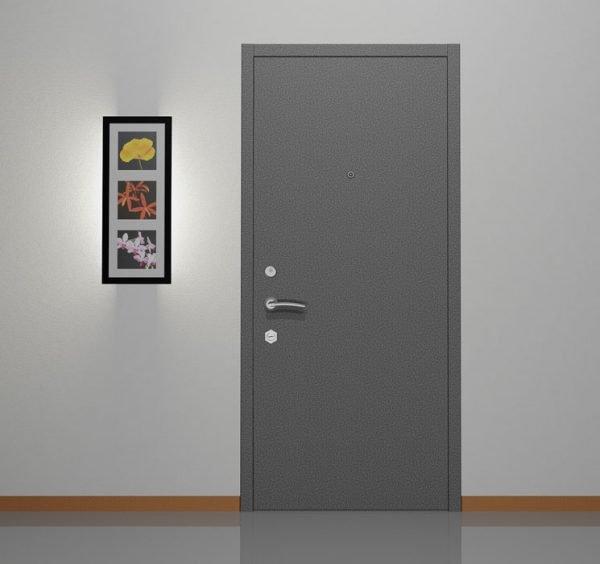 Входные металлические двери со скрытыми петлями