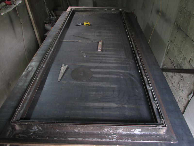 самодельные металлические двери фото валяные