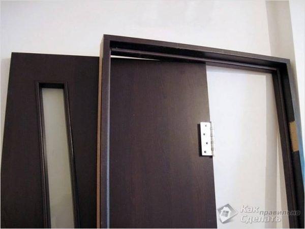 Полотно и короб двери