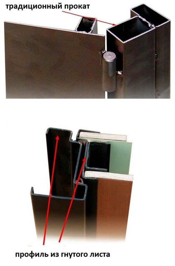Виды дверных металлических коробок
