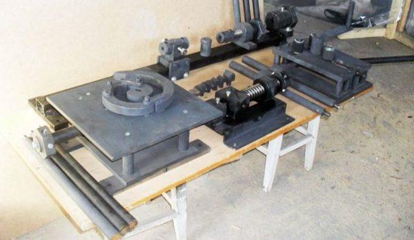 Инструменты для холодной ковки