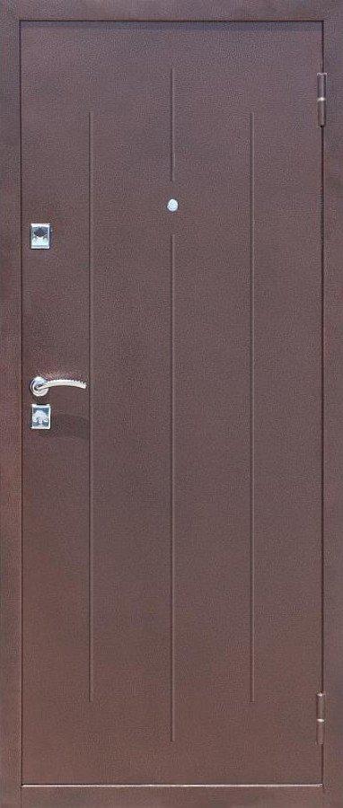 Дверь металлическая уличная эконом-класса