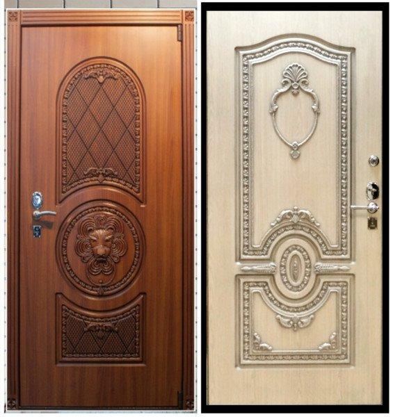 Дверь металлическая уличная премиум-класса
