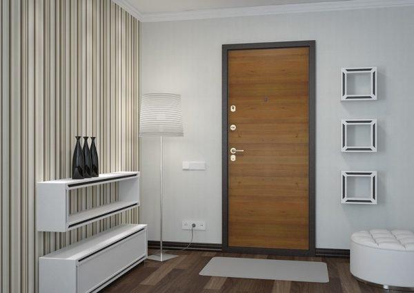Внутренняя отделка металлической двери