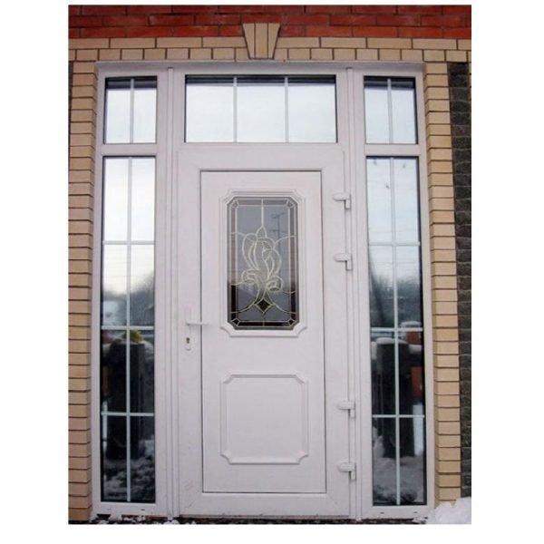 Металлопластиковая входная дверь