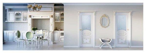 Двери «Эстет» в дворцовом стиле