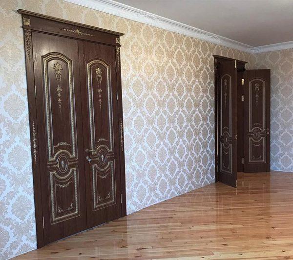 Высокие двери «Эстет» в стиле барокко