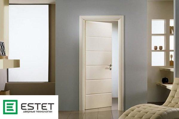 Светлые двери «Эстет» в интерьере