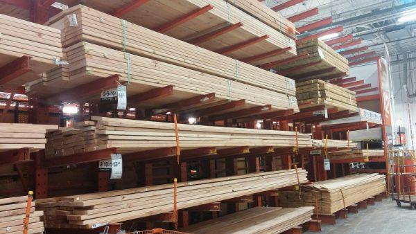 Склад древесной продукции