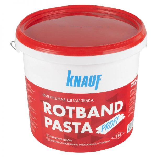 Финишная паста «Кнауф»