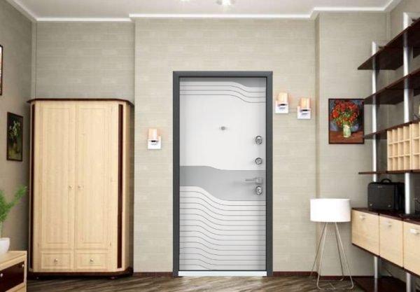 Входная дверь Professor+ в интерьере
