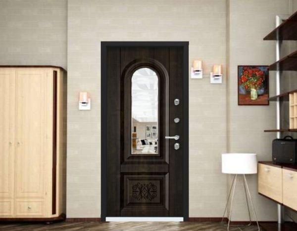 Входная дверь Snegir 45 PP в интерьере