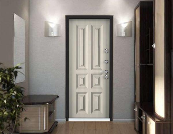 Входная дверь Snegir 20 в интерьере