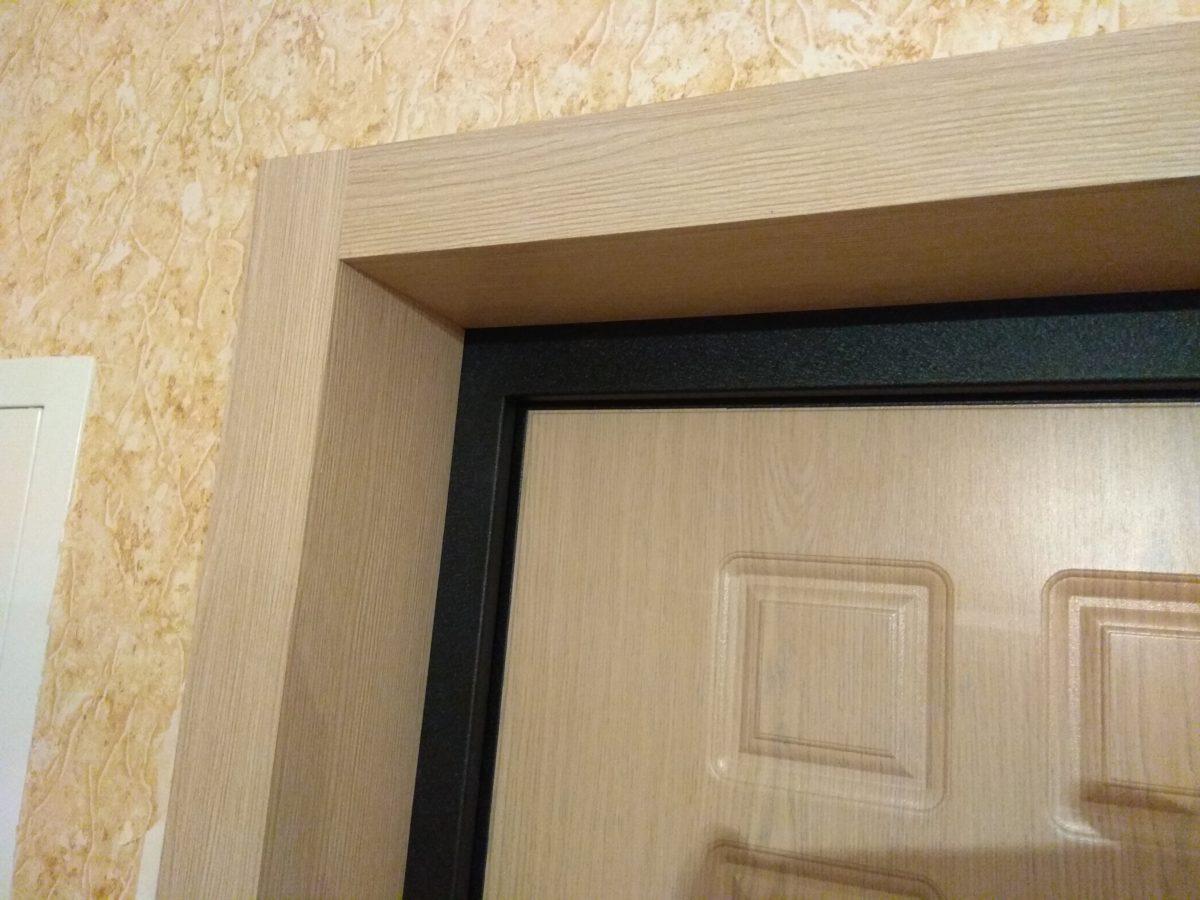 оформление откосов межкомнатных дверей фото этими