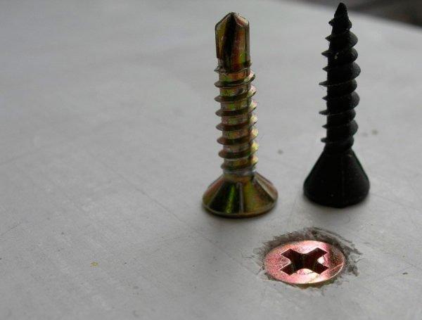 Процесс закрепления оргалита