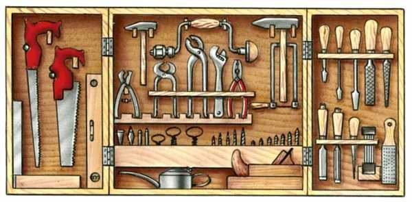 Инструменты для изготовления ширмы