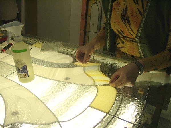 Подготовка стекла