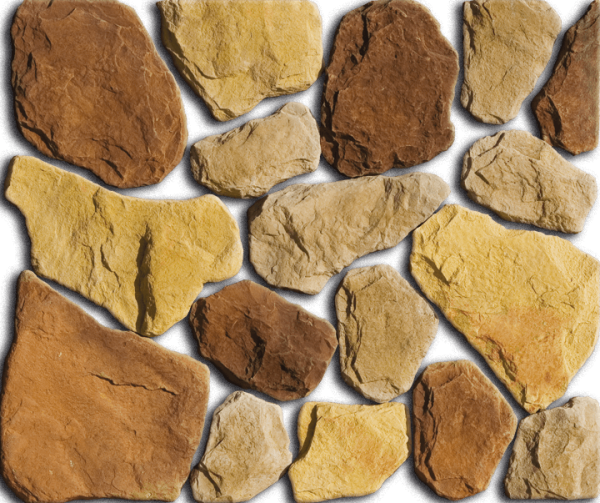 Раскладка камней