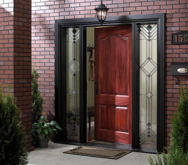 Наружные откосы входной двери