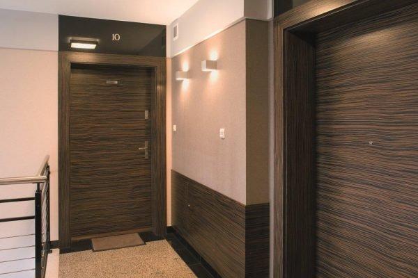 Откосы из МДФ-панелей для дверей