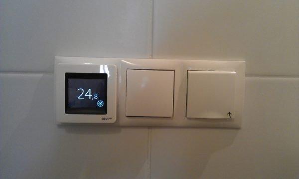 Подключение тёплого пола на кухне