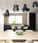 Асимметричные подвесные светильники