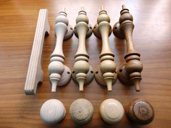 Деревянные стационарные ручки
