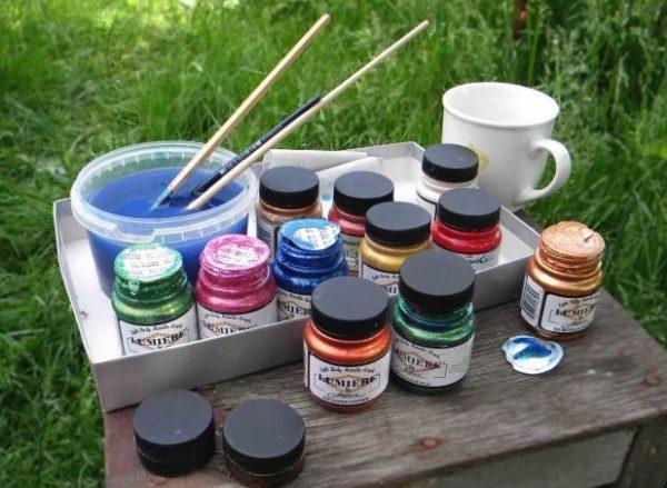 Краски для дерматина