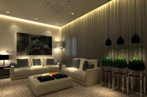 Освещение точечными светильниками