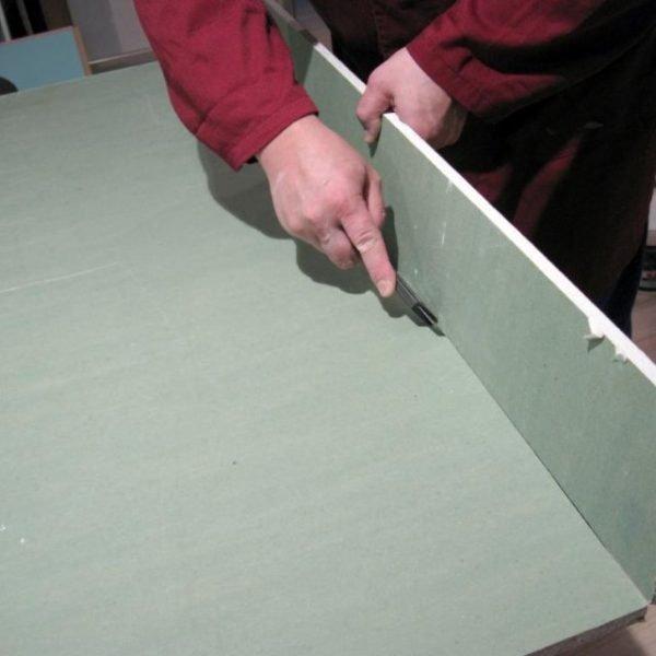 Разрезание листа