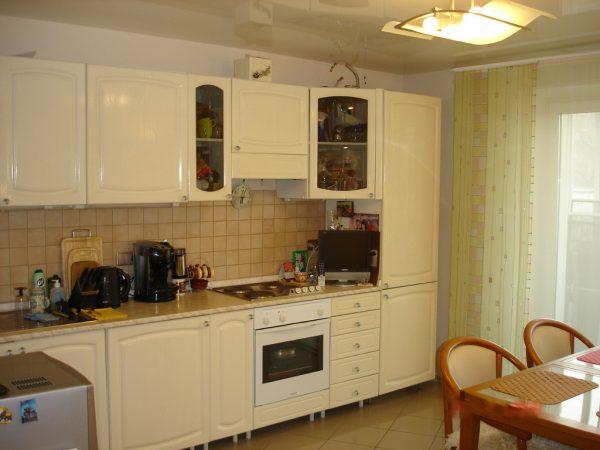 Потолочная люстра на кухне
