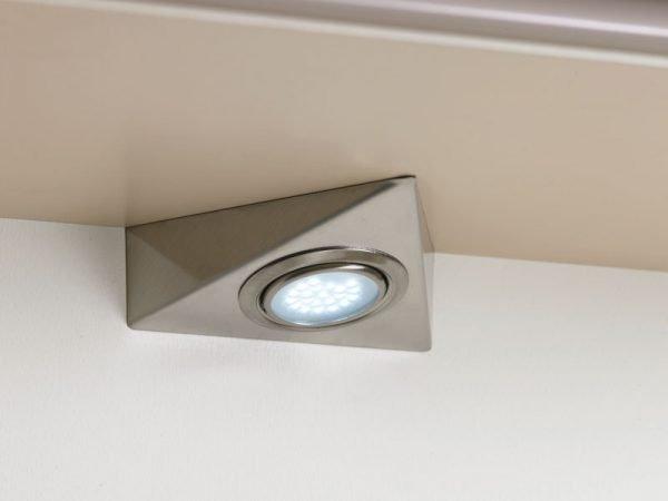 Треугольный накладной светильник для кухни