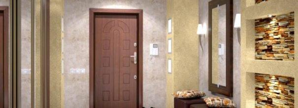 накладки на двери в интерьере