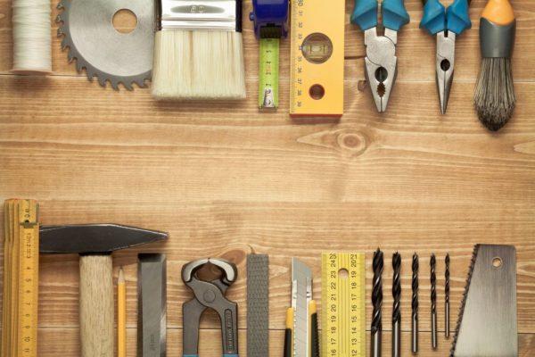 Инструменты для отделки арки