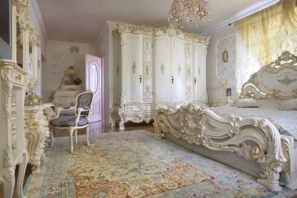 Комната в стиле рококо