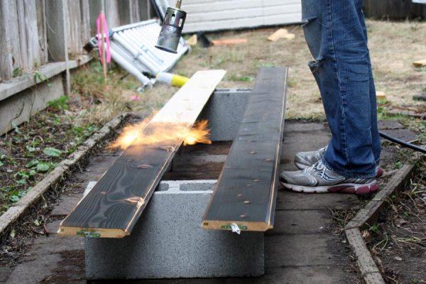 Процесс термической обработки древесины