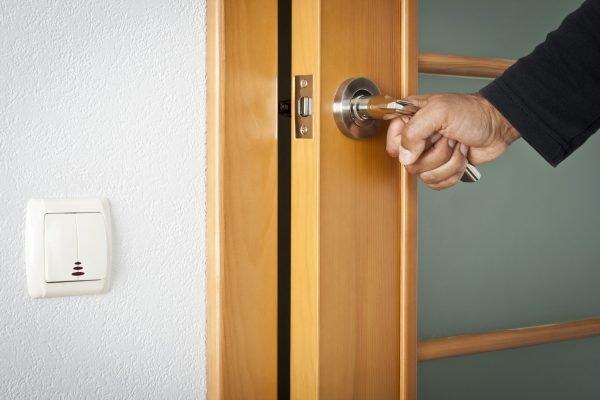 Дверная защёлка