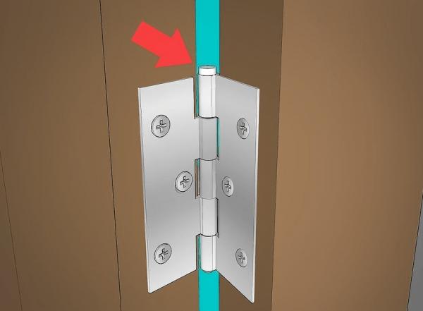 Стержень дверной петли